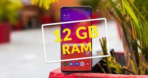 Top Smartphones with Higher RAM